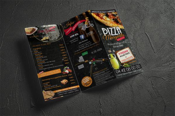 depliant-plusieurs-plis-volets-menu-restauration-pizzeria-communication